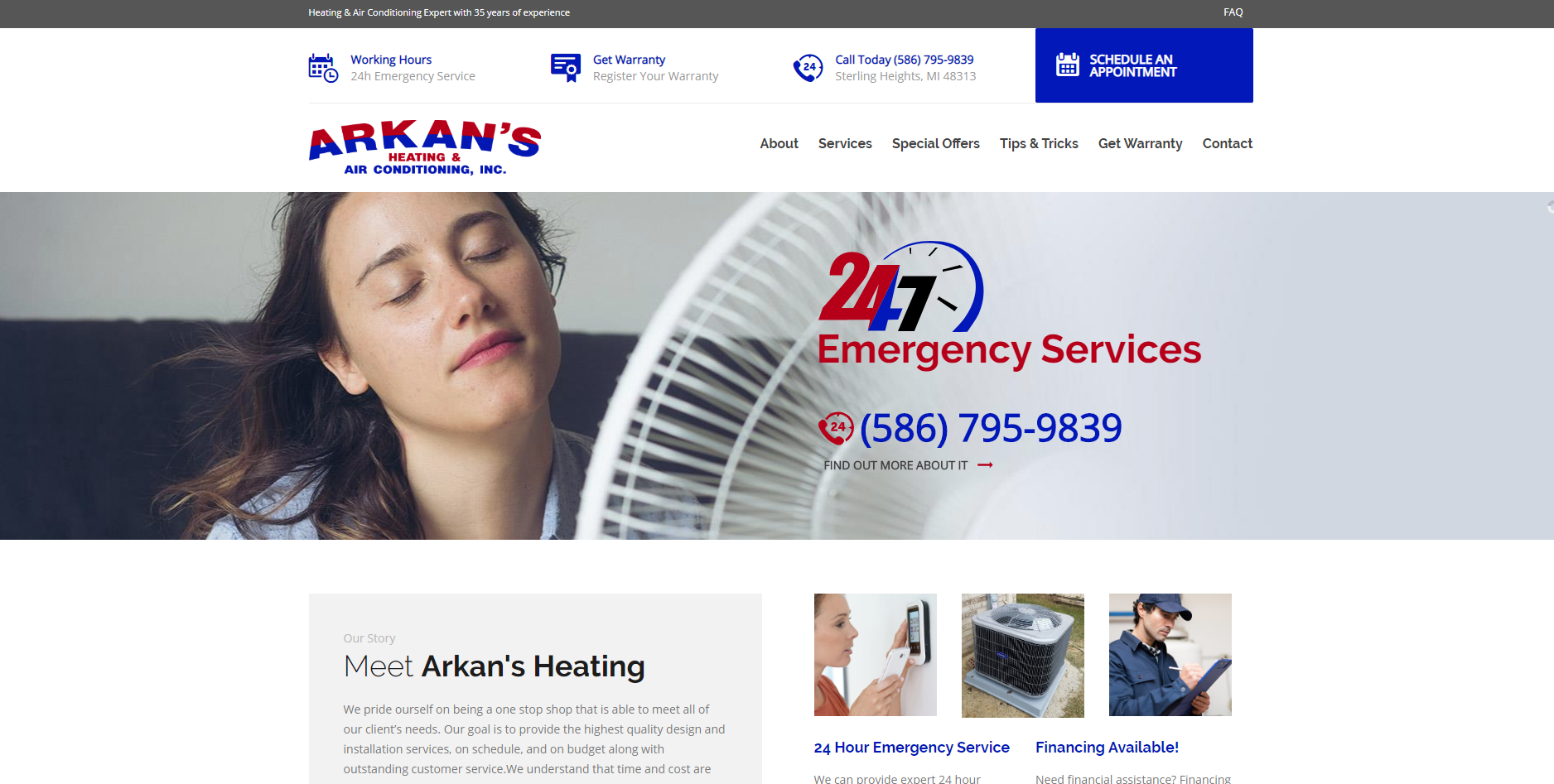 Arkan's Heating & Air Conditioning